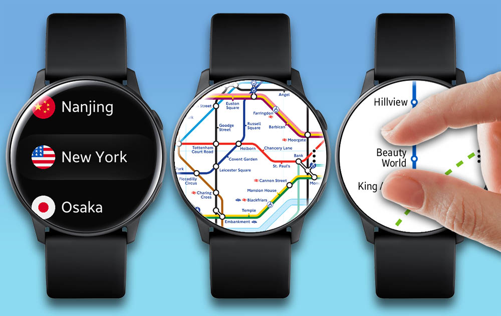 Swstudios Navigation For Galaxy Watch